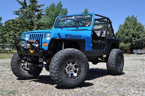 huge jeep wrangler huge jeep wrangler yj with tube fenders jeep wrangler yj