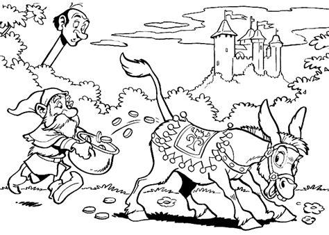 Kleurplaat Ezel Efteling by Efteling Sprookjesboom Vind En Print Bliksemsnel Een