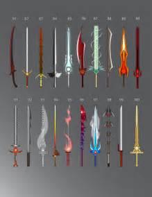 Cool Elemental Swords