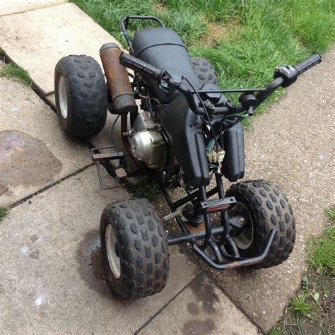 If your kid's passion is the outdoors and exploring the garden, these sporty quad bikes are ideal. Kazuma 50cc kids quad bike runs brilliant lt 50 quad | in Endon, Staffordshire | Gumtree
