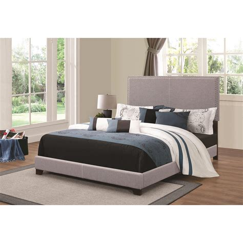 27010 coaster furniture beds coaster upholstered beds upholstered bed with