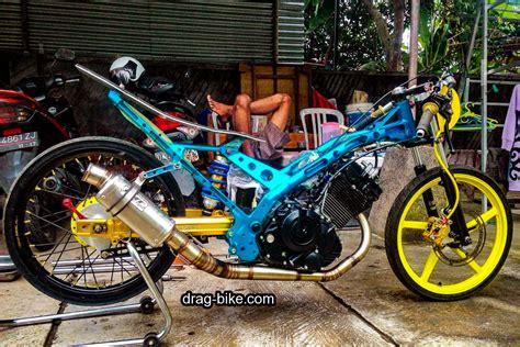 Fu Drag by 55 Foto Gambar Modifikasi Motor Satria Fu Drag Race Style