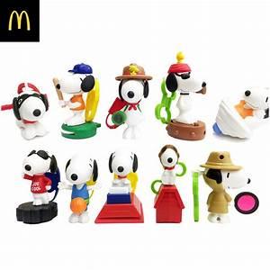 2018 Snoopy Happy World McDonalds Happy Meals Toys ...