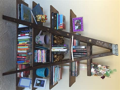 ladder bookshelf plans guide patterns