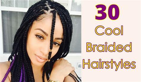 Cool Braided Hairstyles For Long, Short, Medium Hair Black