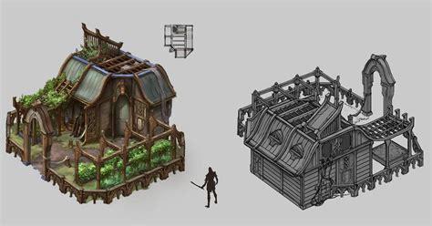 #spellforce 3 #conceptart #elven Farm