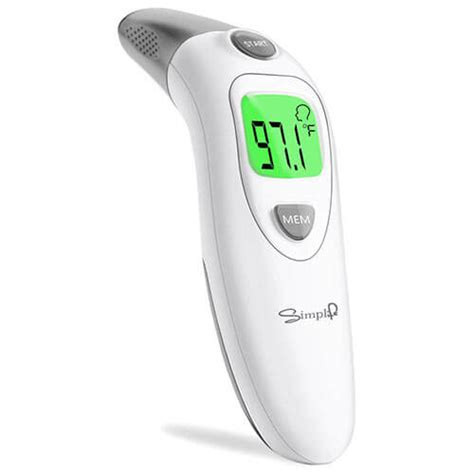 Simplife Baby Forehead and Ear Thermometer for Fever ...