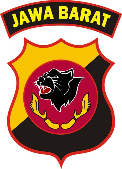 logo polda jawa barat kumpulan logo indonesia