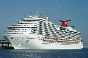Carnival Dream With Mechanical Problems In St Maarten