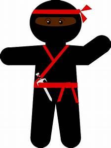 Ninja Clip Art at Clker.com - vector clip art online ...