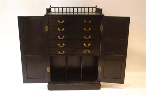 period kitchen cabinets ebonized cabinet by dr c dresser for at 1stdibs 1466