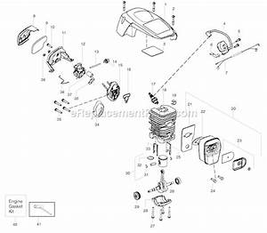 Poulan Pp4218 Parts List And Diagram