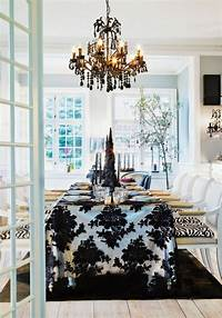 black and white decorations 10 Stylish Black And White Christmas Décor Ideas - DigsDigs