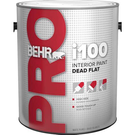 Behr Pro 1 Gal I100 Tonedbase Flat Interior Paint