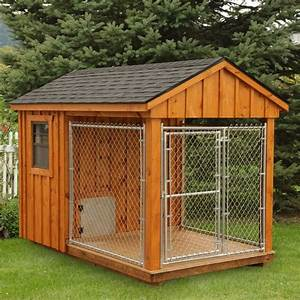 amish cedar dog kennel 6 x 10 furry friends With amish dog crate