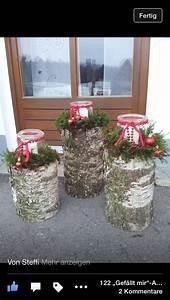 Birkenstamm Deko Weihnachten : die besten 20 birkenstamm deko ideen auf pinterest weihnachtliche holzpfosten weihnachtliche ~ A.2002-acura-tl-radio.info Haus und Dekorationen