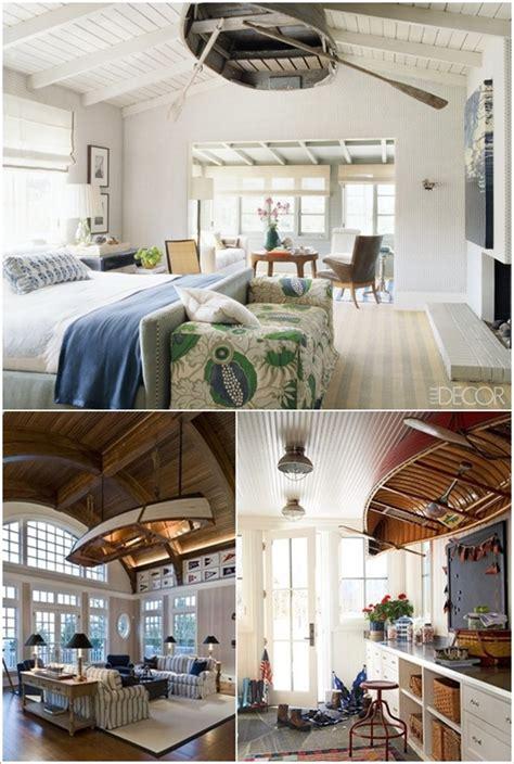 Ingenious Ideas  Repurpose  Boats Living Room