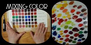 Beginner Guide To Oil Painting Part 1  Mixing Color