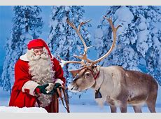 Santa Claus And His Reindeer Real