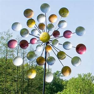 Windspiel Garten Metall : windrad regenbogen gartenstecker metall windspiel h he 197 ~ Lizthompson.info Haus und Dekorationen