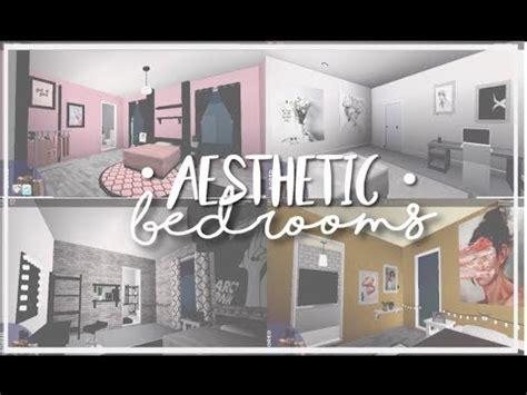roblox bloxburg aesthetic bedrooms youtube