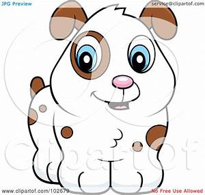Royalty-Free (RF) Clipart Illustration of a Cute White ...