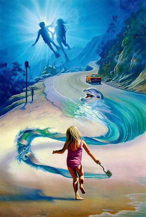 young artist surreal art fine art fantasy art