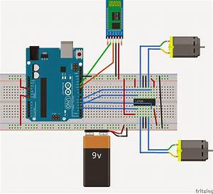 Arduino And Android Control Bluetooth Robot