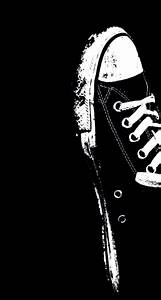 black&white converse iphone5c and iphone6 wallpaper ...