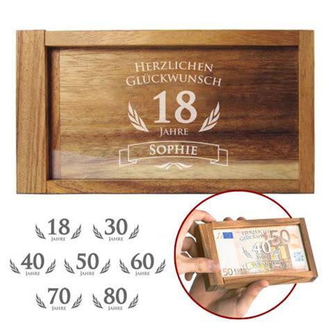 was schenkt zum 18 geburtstag magische geldgeschenkbox zum geburtstag witziges knobelgeschenk