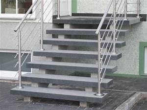 Treppe Mit Podest Berechnen : aussentreppe mit podest pulverbeschichtet treppe selber ~ Lizthompson.info Haus und Dekorationen