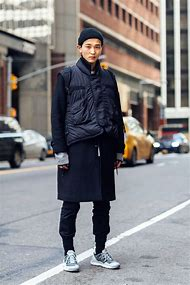 New York Street Style Fashion Man