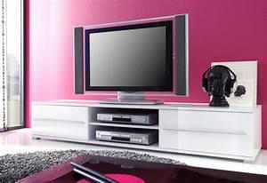 Tv Board Skandinavisch : lowboard spiros 175x32x47 cm wei hochglanz tv board ~ Michelbontemps.com Haus und Dekorationen