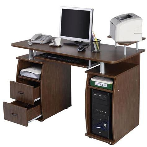 meuble pour ordinateur de bureau bureau avec rangement imprimante meilleures images d