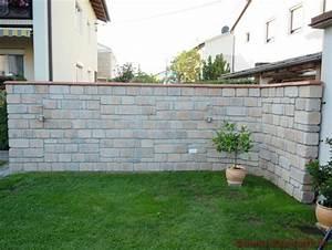 Gartenmauern Aus Naturstein : chaperon plate farbe rouge bilder ~ Sanjose-hotels-ca.com Haus und Dekorationen
