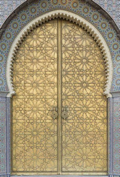 doormoorish  background texture morocco metal