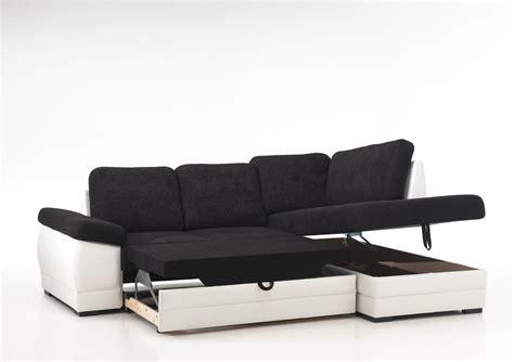 canape angle noir canapé d 39 angle contemporain convertible en tissu coloris