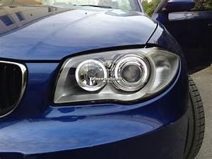 Phare Auto : phares avants angel eyes avec anneaux blancs sur bmw s rie 1 accessoire voiture ~ Gottalentnigeria.com Avis de Voitures