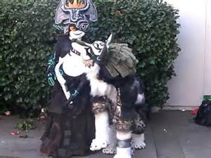 Twilight Princess Wolf Link Costume