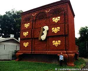 worlds largest chest  drawers high point north carolina