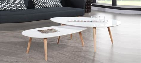 table cuisine ronde blanche table ovale scandinave