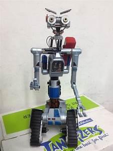 Johnny 5 Robot De La Pelicula Cortocircuito 14 =35cm ...