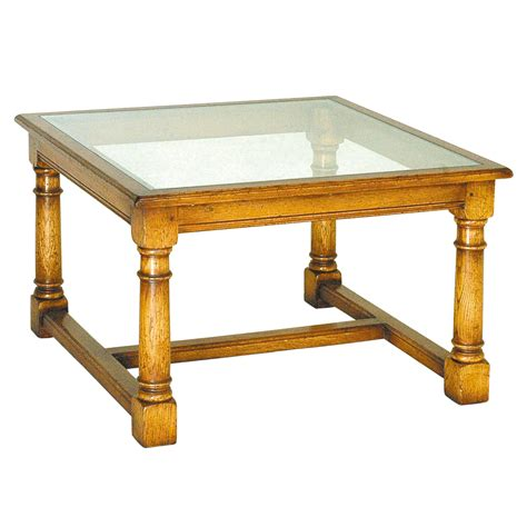 oak coffee table with glass top english oak coffee table with glass top titchmarsh goodwin