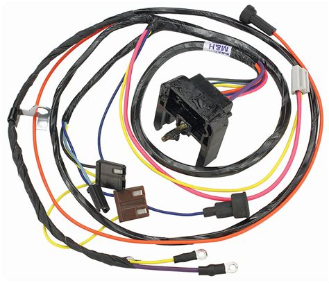 1971 Monte Carlo Wiring Harnes by M H Chevelle Engine Harness V8 Hei Small Block W Warning