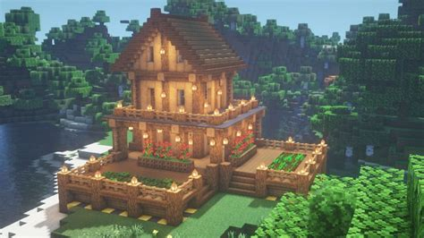 survival house   minecraft architecture minecraft house designs cool minecraft houses