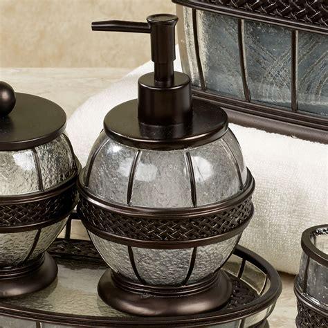 rubbed bronze bathroom accessories bath accessories