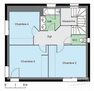 Logiciel Pour Faire Des Plans De Batiments : maison nergie positive d tail du plan de maison ~ Premium-room.com Idées de Décoration