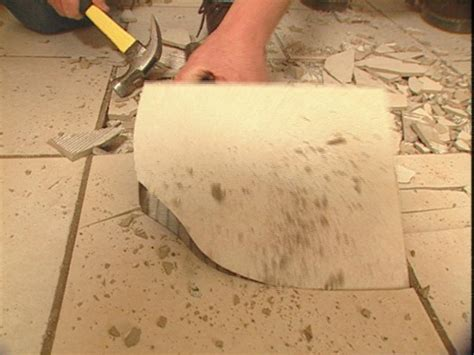 removing tile floor how to remove tile flooring how tos diy