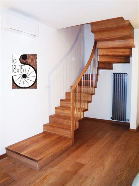 corrimano scala scale scale legno biella piemonte lombardia liguria