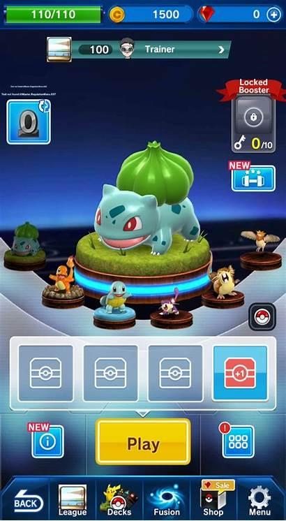 Duel Pokemon Menu Pokemon Main Games App